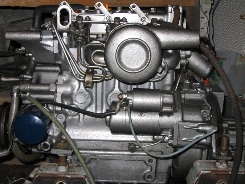 Reglage moteur yanmar l100ae